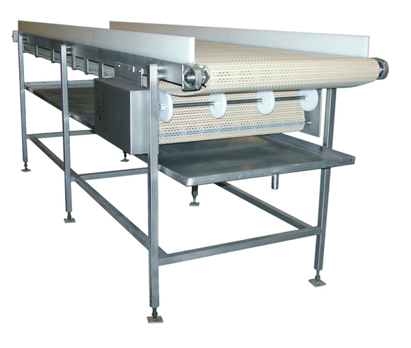 Welded Conveyor with Center Drive